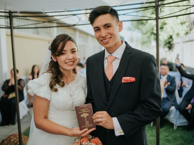 El matrimonio de Juan Carlos y Rocío Macarenna