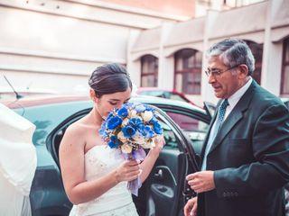 El matrimonio de Cinthya y Andrés 2
