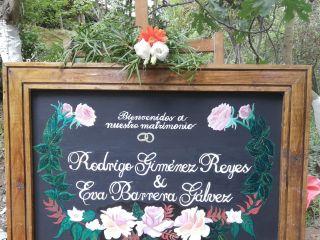 El matrimonio de Eva Francisca Galvéz y Rodrigo Giménez Reyes 1