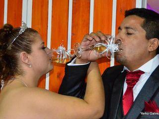 El matrimonio de Valeria y Alex