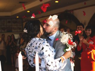 El matrimonio de Carolina y Hugo