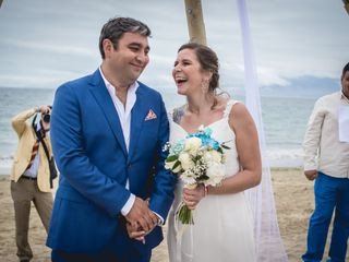 El matrimonio de Vane y Coto