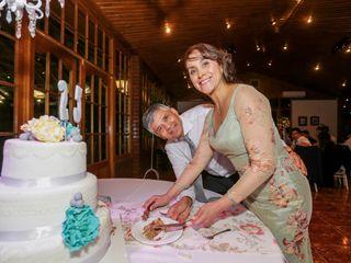 El matrimonio de Marcela y Alexis
