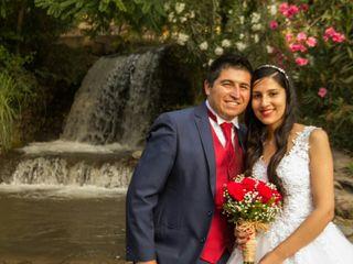 El matrimonio de Marion y Luis