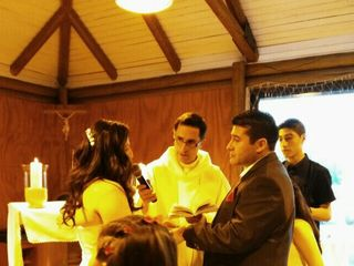 El matrimonio de Jessica y Carlos 1