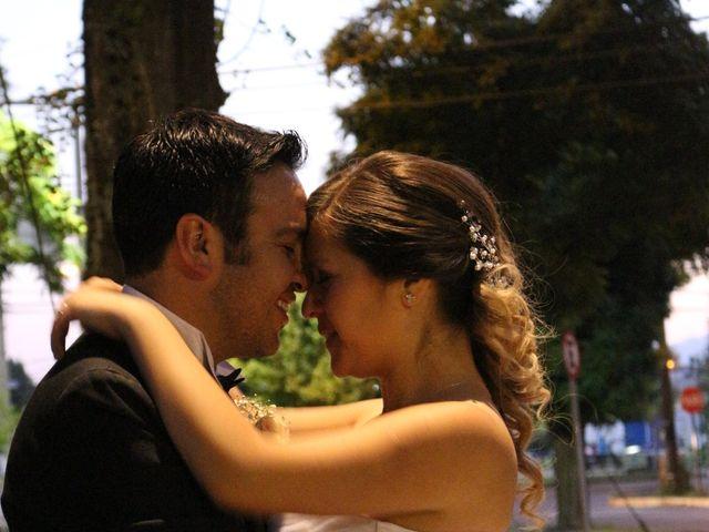 El matrimonio de Cristián y Valeria