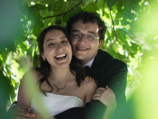 El matrimonio de Alexandra y Esteban