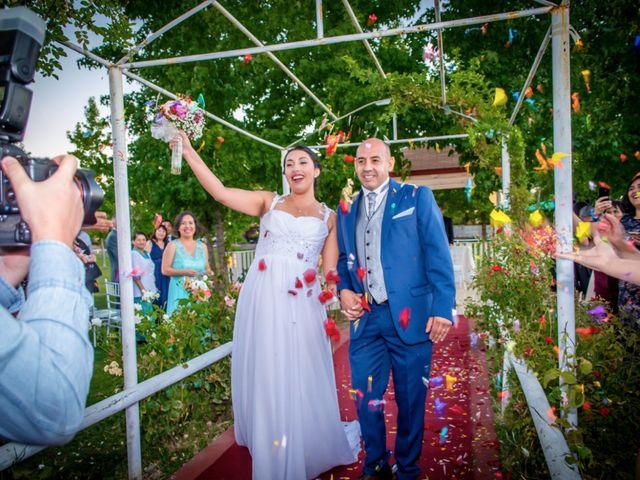 El matrimonio de Daniela y Manuel