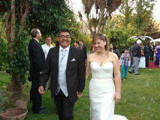 El matrimonio de Lorena  y Víctor