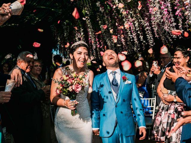 El matrimonio de Vanessa  y Sebastián