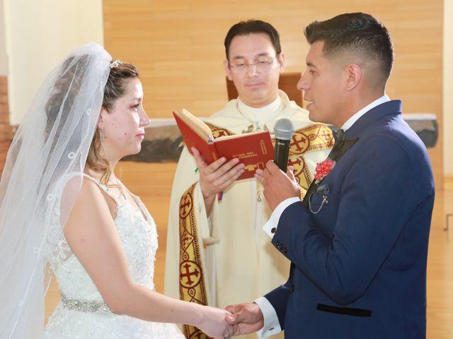 El matrimonio de Gonzalo y Catalina en Maipú, Santiago 1