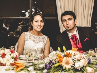 El matrimonio de Leonardo y Carla