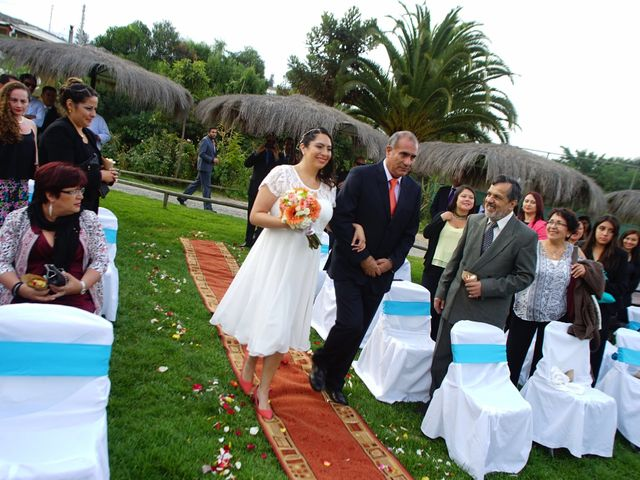 El matrimonio de Sergio  y Eugenia  en Limache, Quillota 13