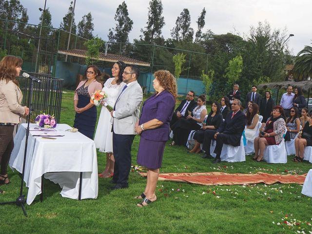 El matrimonio de Sergio  y Eugenia  en Limache, Quillota 15