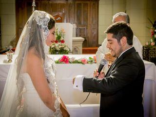 El matrimonio de Geraldine y Ricardo