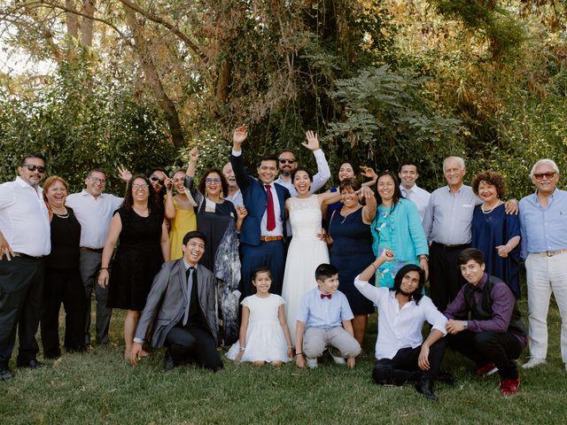 El matrimonio de David y Fernanda en Buin, Maipo 23