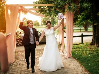 El matrimonio de Romina y Jorge