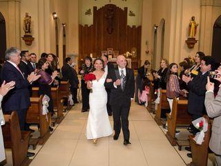El matrimonio de Patricia  y Oscar