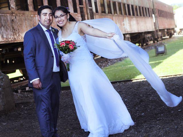 El matrimonio de Makarena y Lisandro