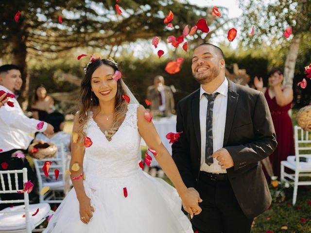 El matrimonio de Naya y Roberto