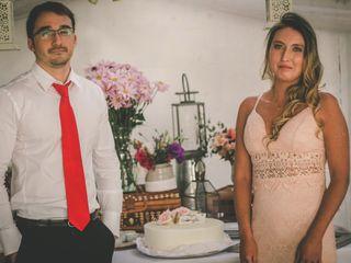 El matrimonio de Evelyn y Giorgio