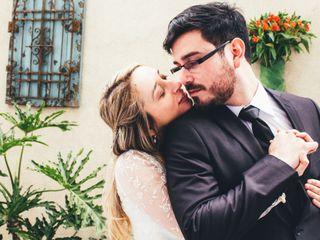 El matrimonio de Gabriela y Héctor