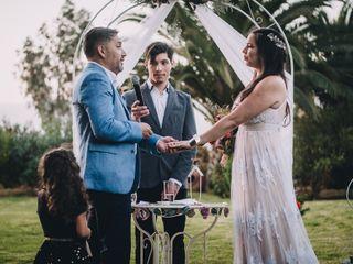 El matrimonio de Shirley y Álvaro