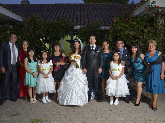 El matrimonio de Elizabeth y Víctor en Padre Hurtado, Talagante 1