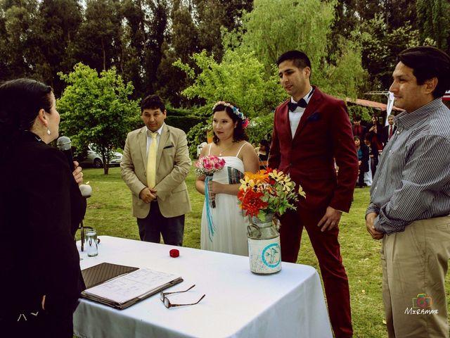 El matrimonio de Jimena  y Jose Luis  en Calera de Tango, Maipo 1