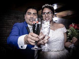 El matrimonio de Karla y Franco