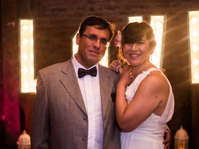 El matrimonio de María Eugenia y Mauricio