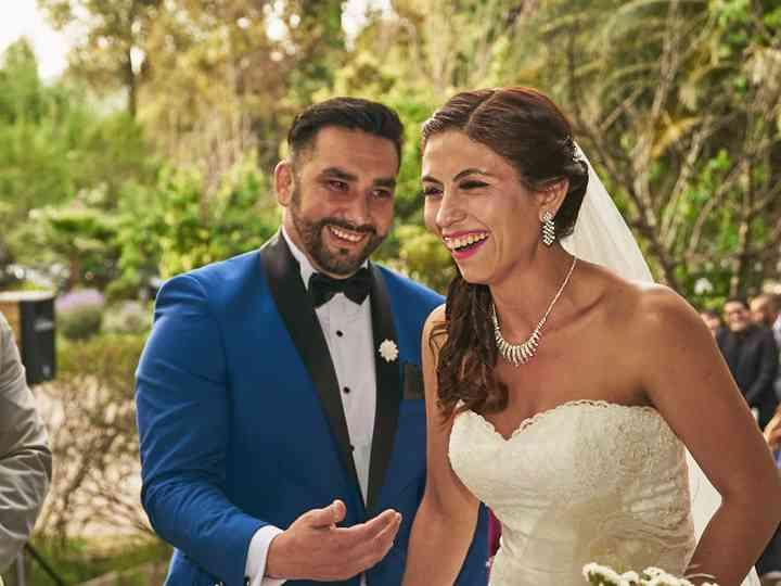 El matrimonio de Melissa y Michael