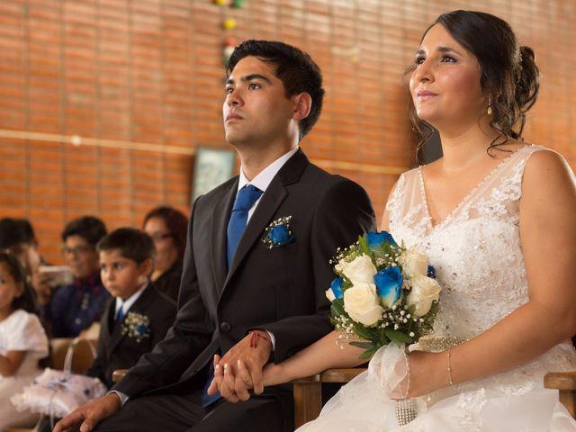 El matrimonio de Romina y Waldo