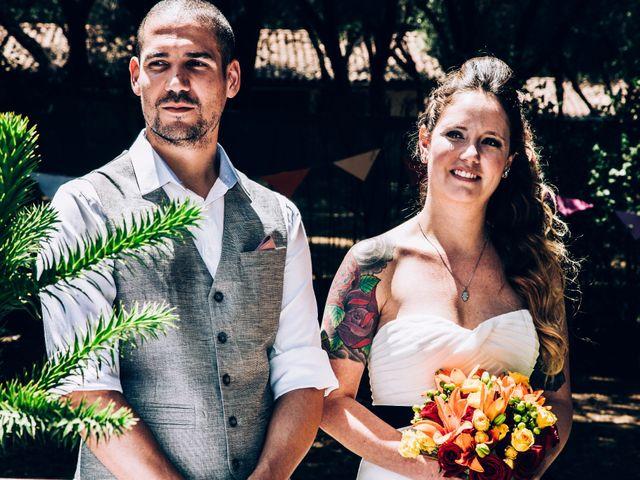 El matrimonio de Carmen y Cristian