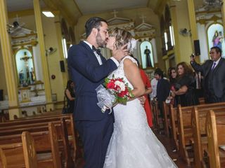El matrimonio de Cristian Chandia y Marcela Rios
