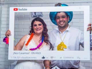 El matrimonio de Fernanda y Eliezer