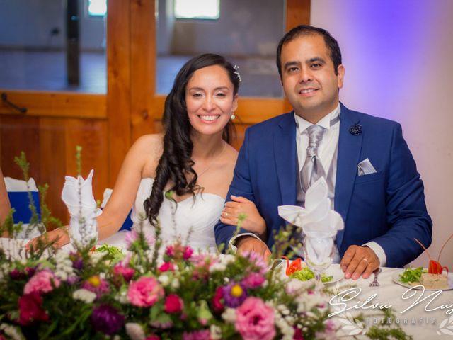 El matrimonio de Marlene y Osvaldo