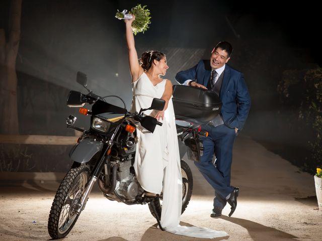 El matrimonio de Nanya  y César