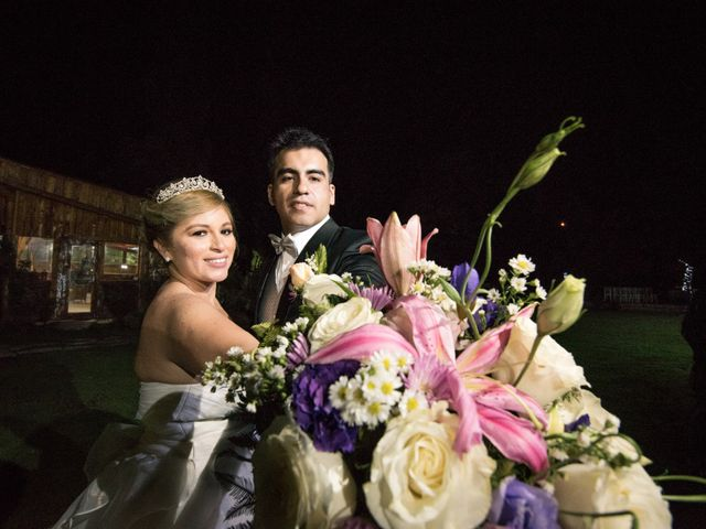 El matrimonio de Esterlina y Óscar