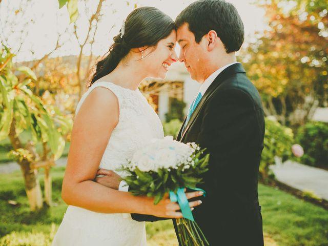 El matrimonio de Francisco y Daniella