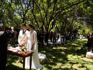 El matrimonio de Josefa y Cristofer