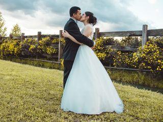 El matrimonio de Arlette y Luis