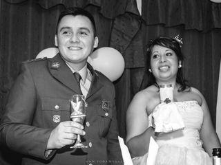 El matrimonio de Evelyn y Claudio