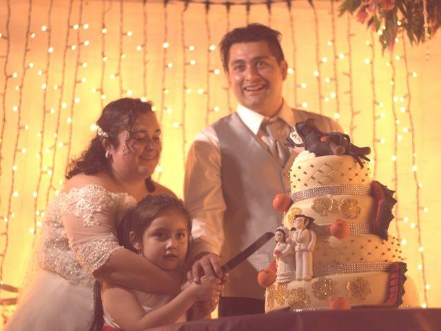 El matrimonio de Alexandra y Marco