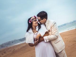 El matrimonio de Gabriela y Mitshael