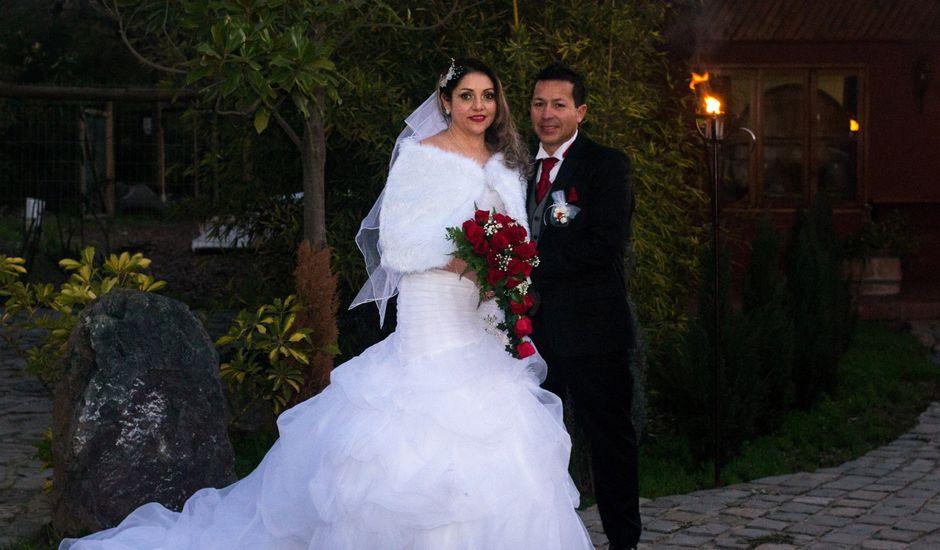 El matrimonio de Gustavo y Mery en Calera de Tango, Maipo