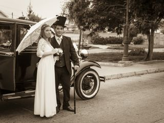 El matrimonio de Dana y Arturo