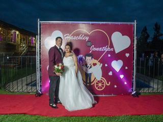 El matrimonio de Haschley  y Jonathan