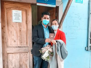 El matrimonio de Yamilet  y Javier
