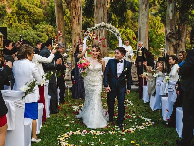 El matrimonio de Héctor  y Cynthia  en San José de Maipo, Cordillera 1